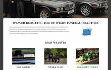 Weaver Brothers Ltd   Isle of Wight Funeral Directors