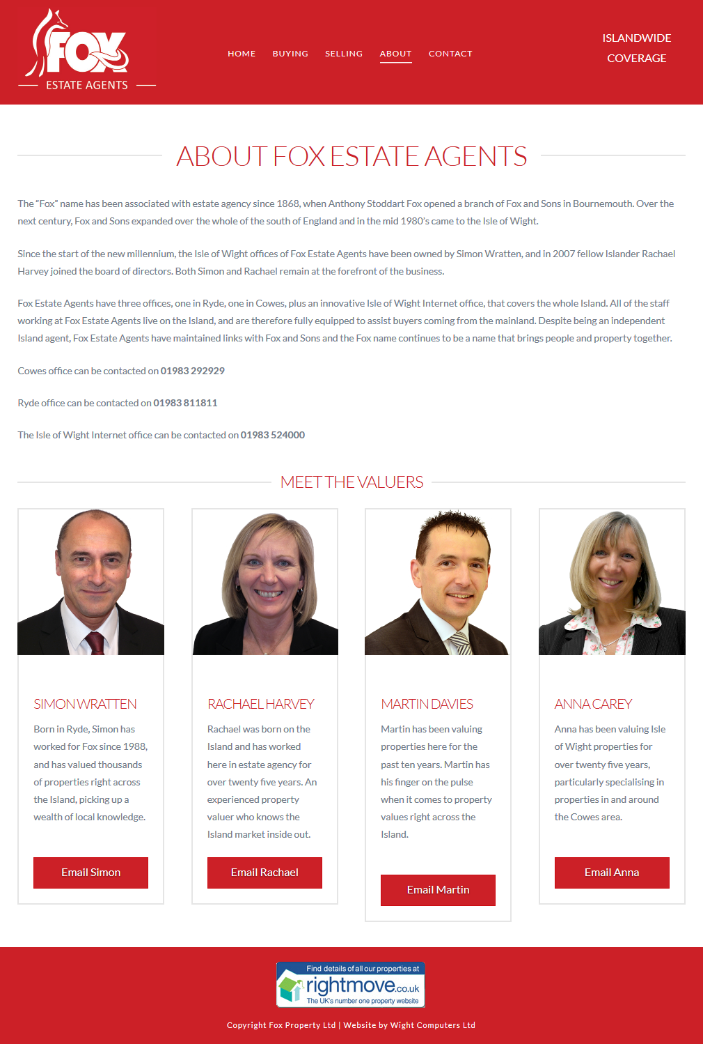 Fox Estate Agents – About the Isle of Wight Estate Agents 2015-11-27 11-12-36