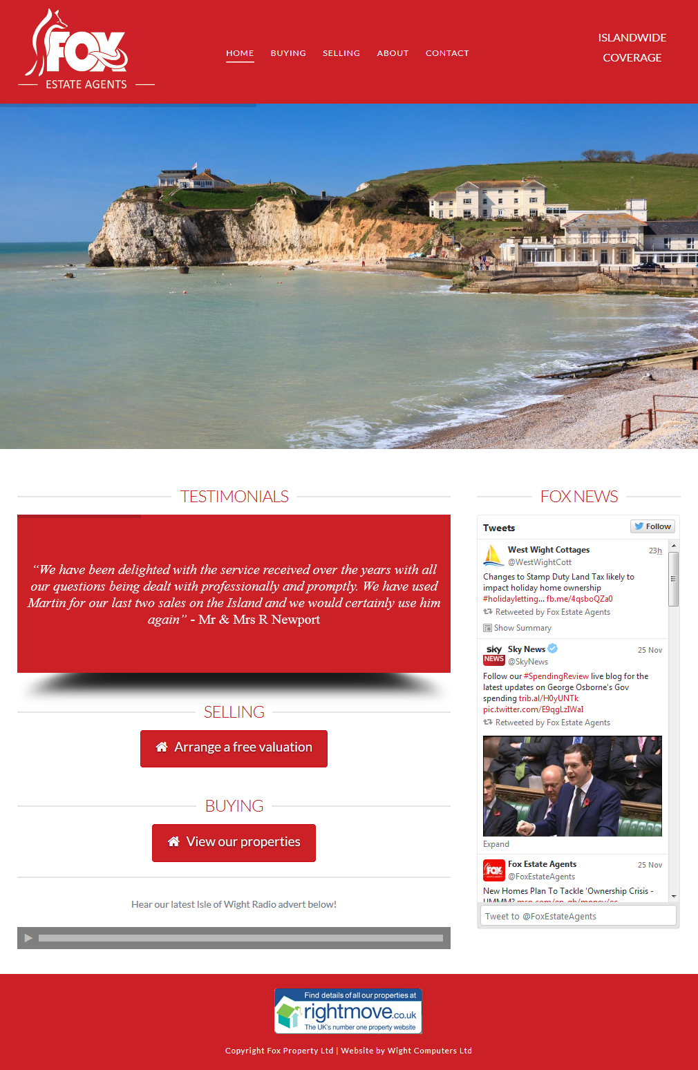 Fox Estate Agents – Isle of Wight Estate Agents 2015-11-27 11-12-56