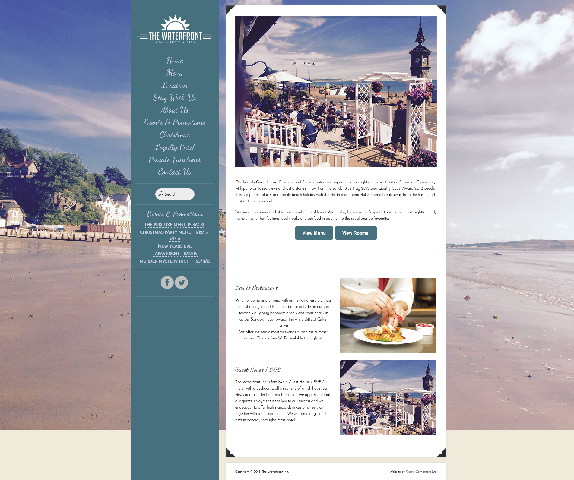 The Waterfront Inn – Hotel, Brasserie & Bar on Shanklin Beach 2015-11-27 11-10-00