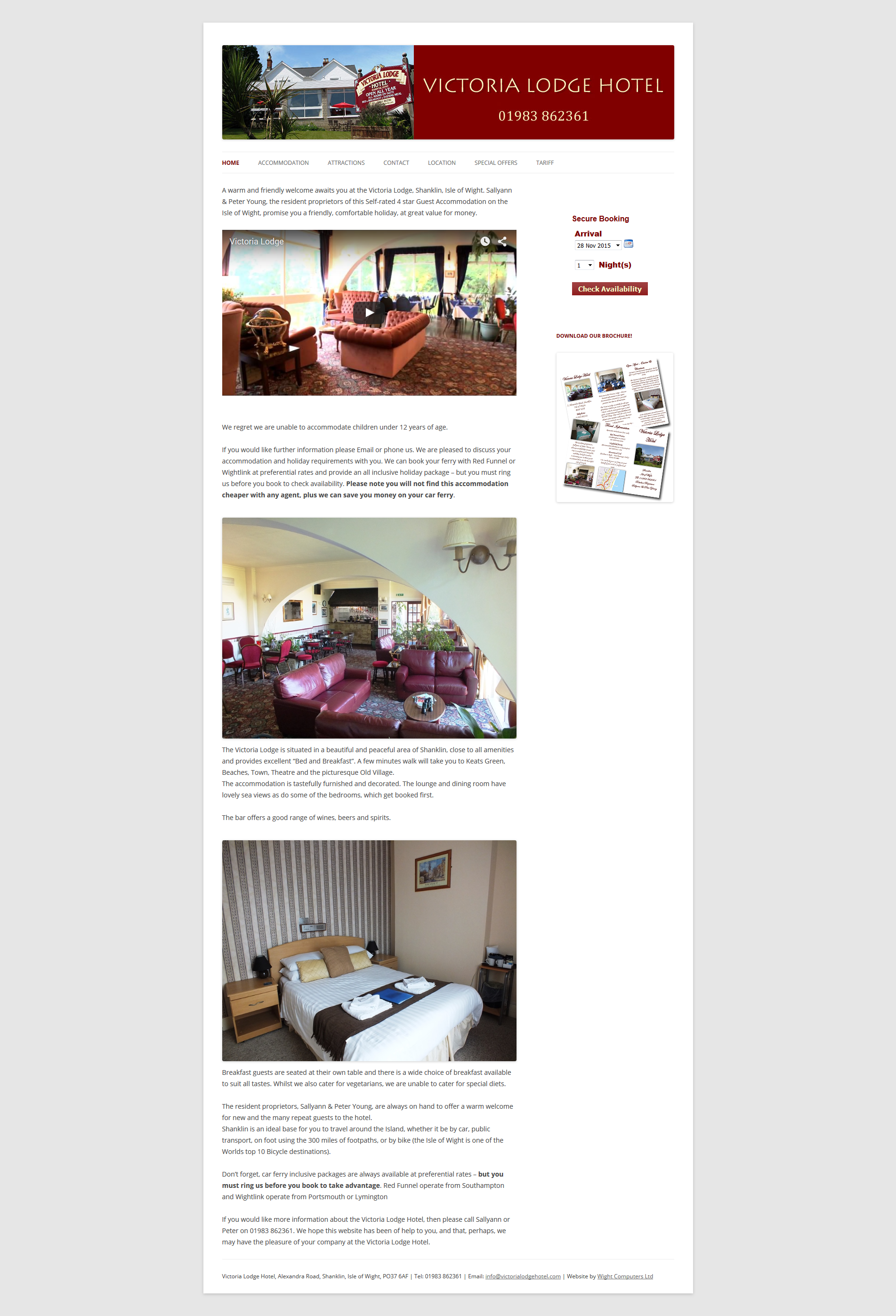 Victoria Lodge Hotel – Shanklin Isle of Wight Accommodation 2015-11-27 11-35-40
