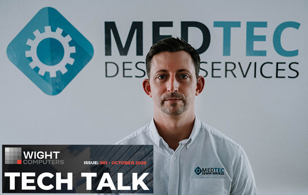 Dan Carley from Medtec Design Services